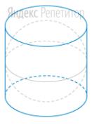 Около шара описан цилиндр, площадь поверхности которого равна ....