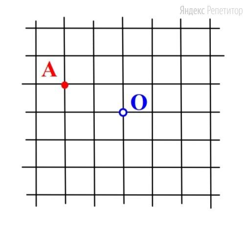 Окружность с центром в точке ... квадратной сетки проходит через точку .... Сколько всего узлов этой сетки лежит на данной окружности?