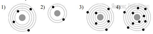 Атому ... соответствует схема