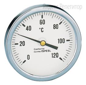 На рисунке представлена шкала термометра.