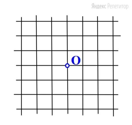 Сторона одной клетки квадратной сетки равна .... Сколько всего узлов этой сетки находится от точки ... на расстоянии, не большем ... клеток?