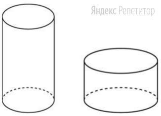 Дано два цилиндра. Объём первого цилиндра равен 80. У второго цилиндра высота в 3 раза больше, а радиус основания в 4 раза меньше, чем у первого.