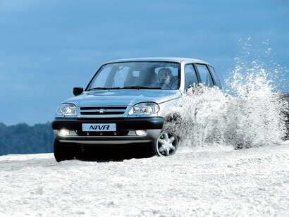 Купить Chevrolet Niva пробег 82 500.00 км 2008 год выпуска