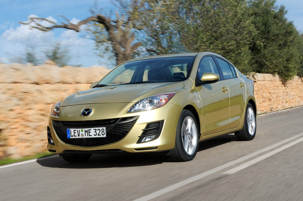Mazda 3 2009 – 2011, 2 поколение (BL), Седан: технические ...