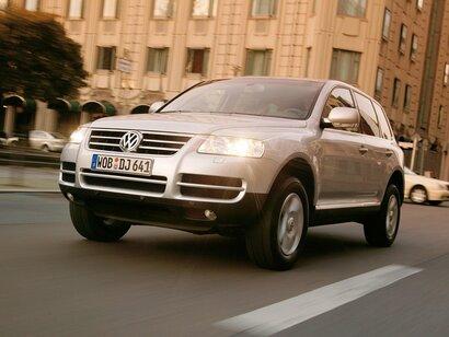 Купить Volkswagen Touareg пробег 145 000.00 км 2004 год выпуска