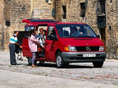 Купить Mercedes-Benz Vito пробег 250 000.00 км 2001 год выпуска
