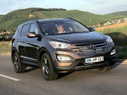 Купить Hyundai Santa Fe пробег 75 000.00 км 2014 год выпуска