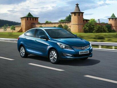 Купить Hyundai Solaris пробег 85 000.00 км 2015 год выпуска