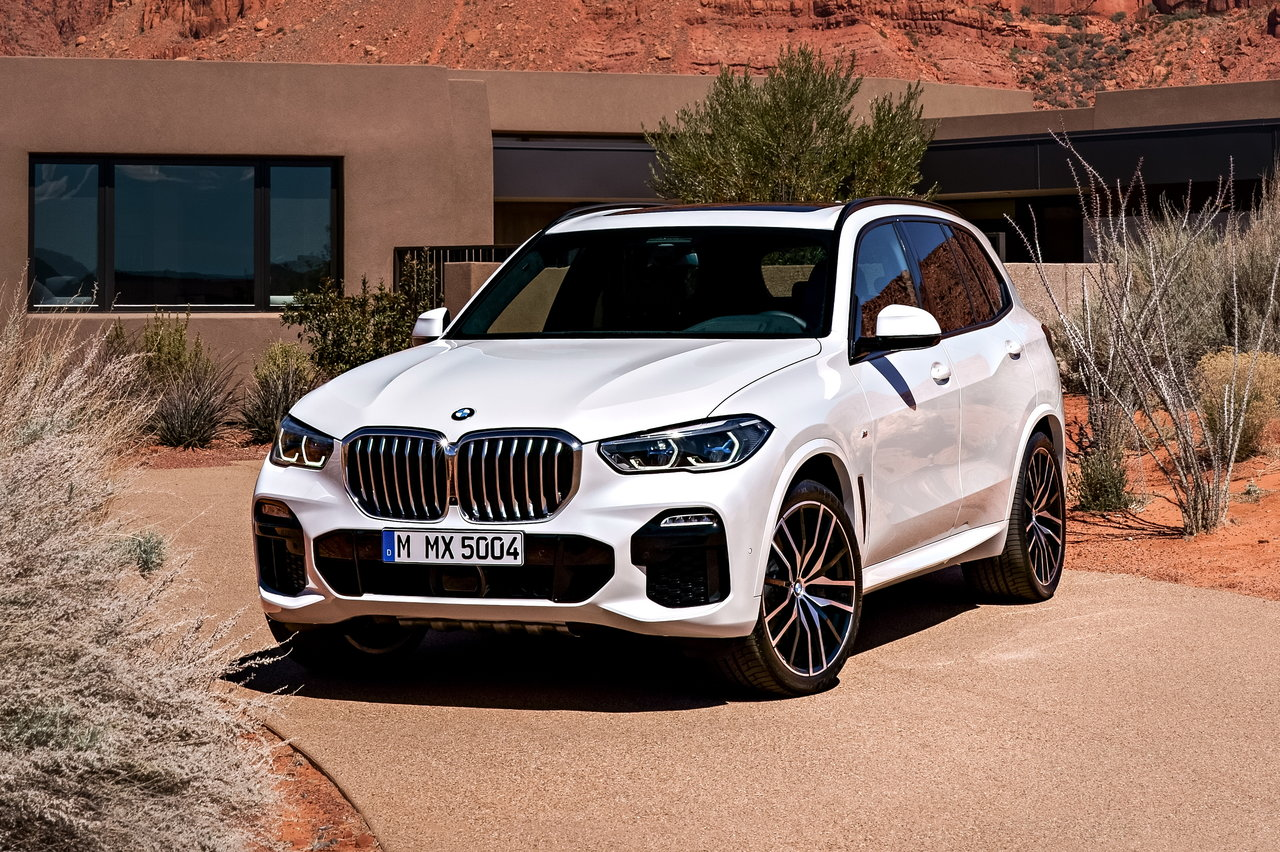 Новый BMW X5: обзор, сравнение, цены картинки