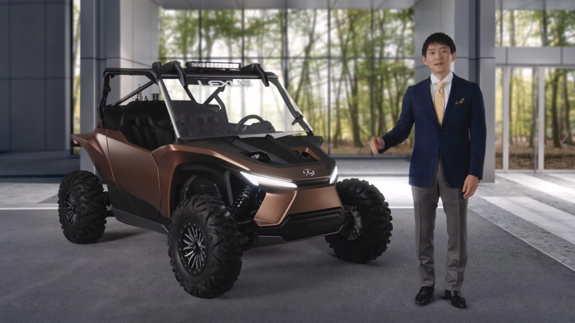 Lexus показал странный концепт для активного отдыха: это багги, работающий на водороде