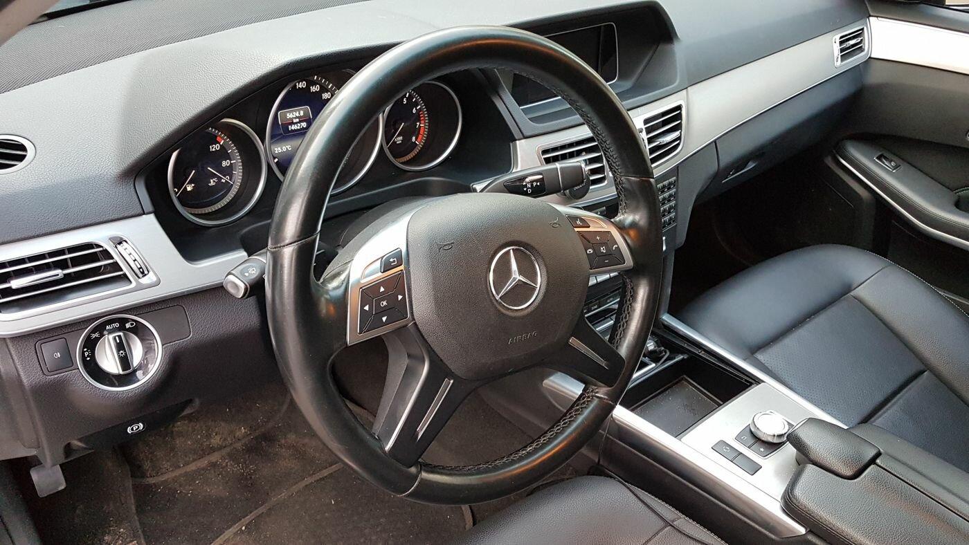 Mercedes E-Klasse 2014 года с пробегом за 300 тысяч