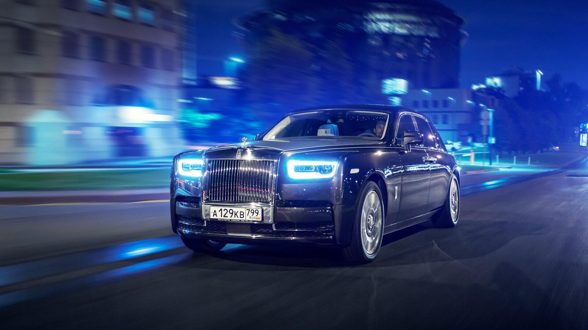 Князь тишины: тест-драйв Rolls-Royce Phantom