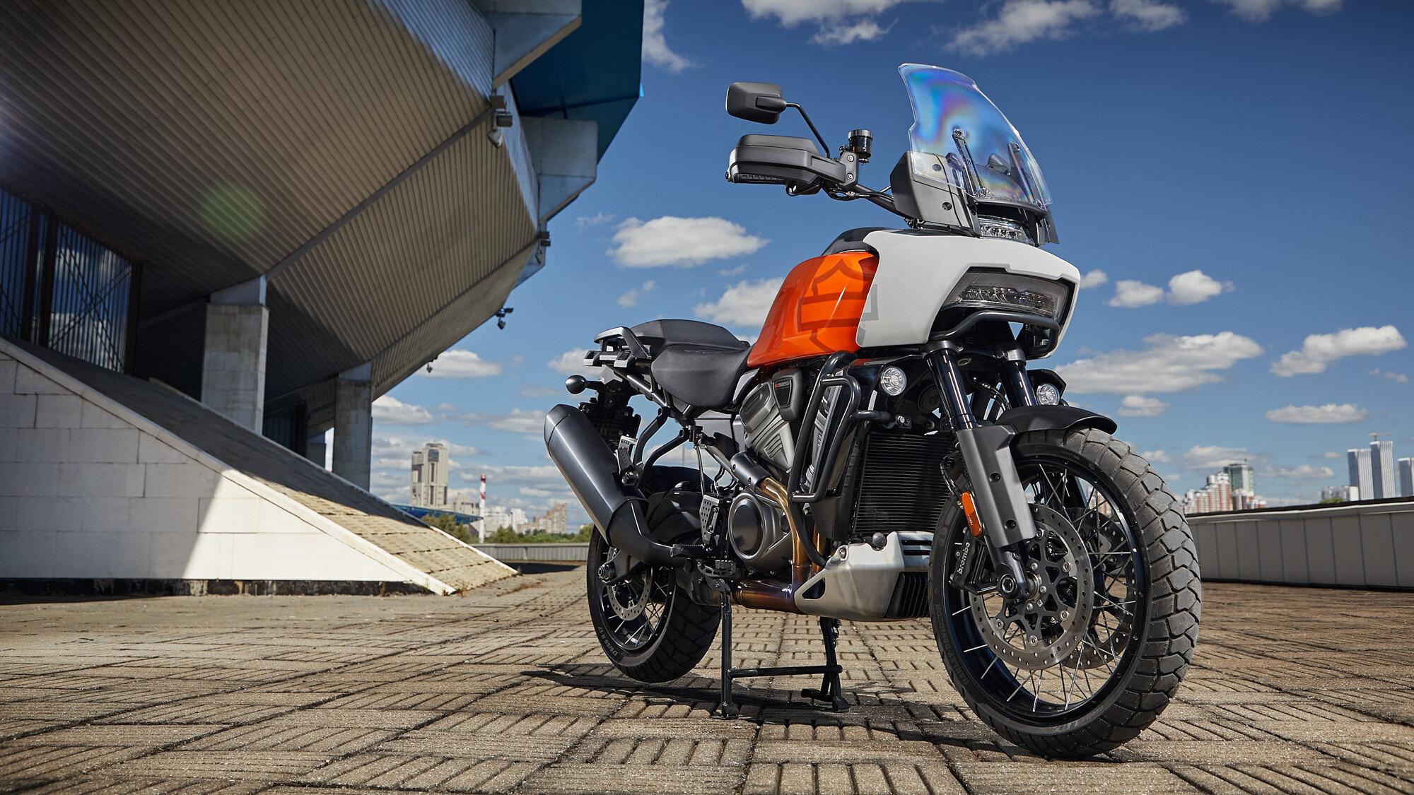 Первый туристический: тест-драйв Harley-Davidson Pan America