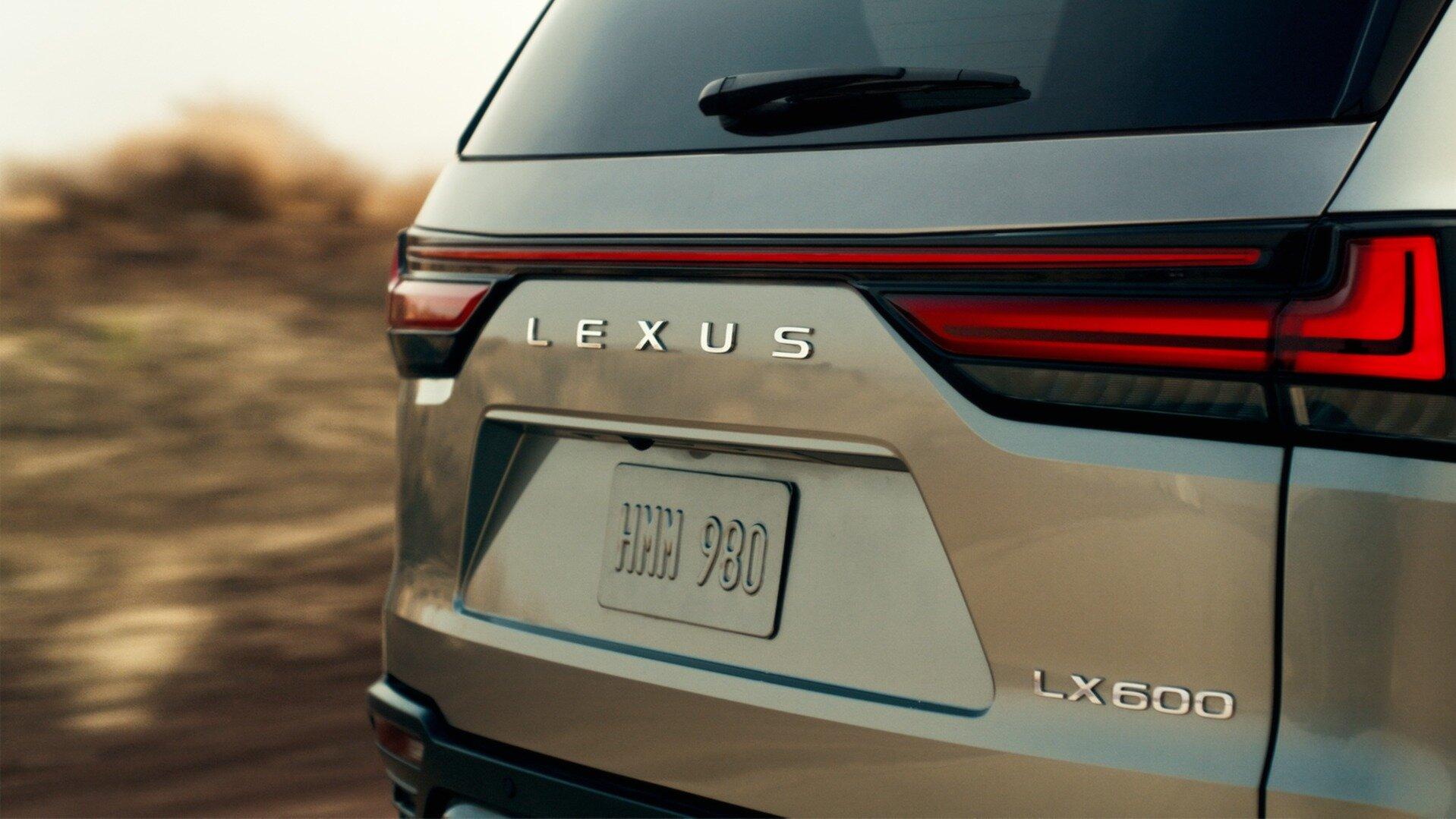 Lexus LX нового поколения: первое фото и дата премьеры