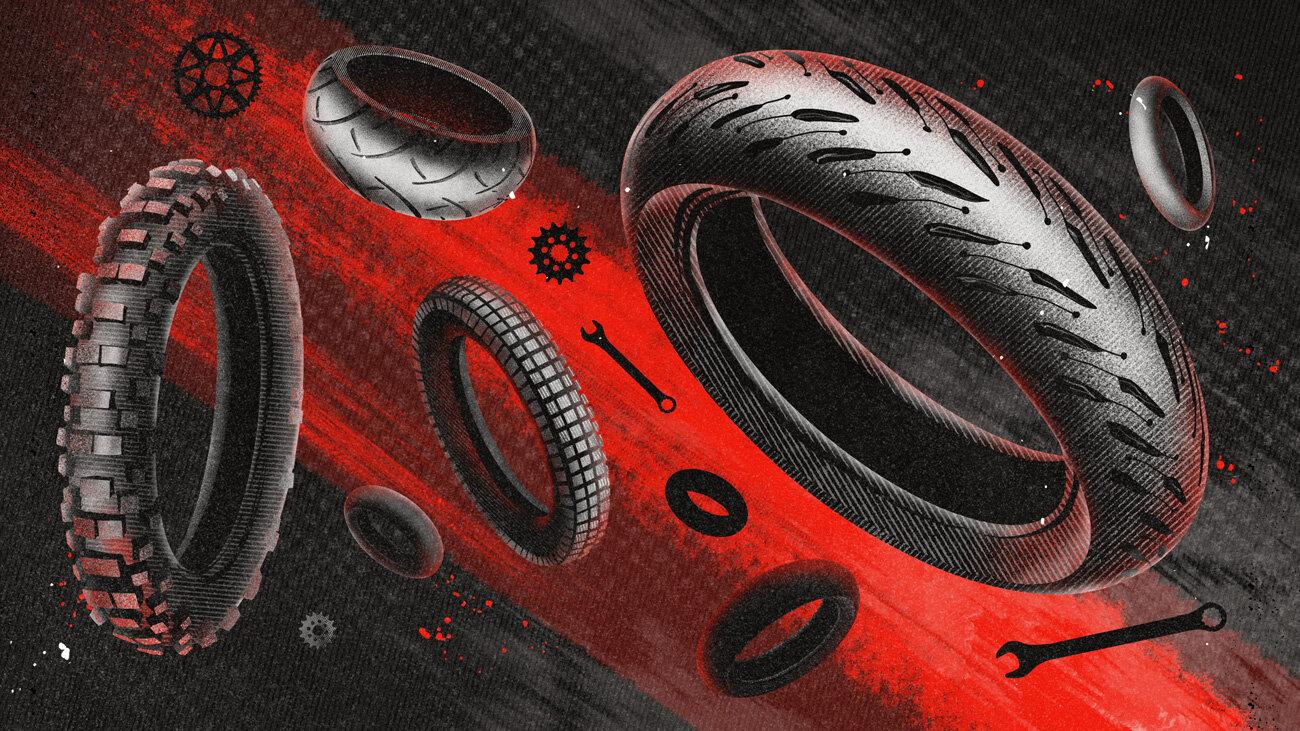 15 вопросов и ответов про шины для мотоциклов