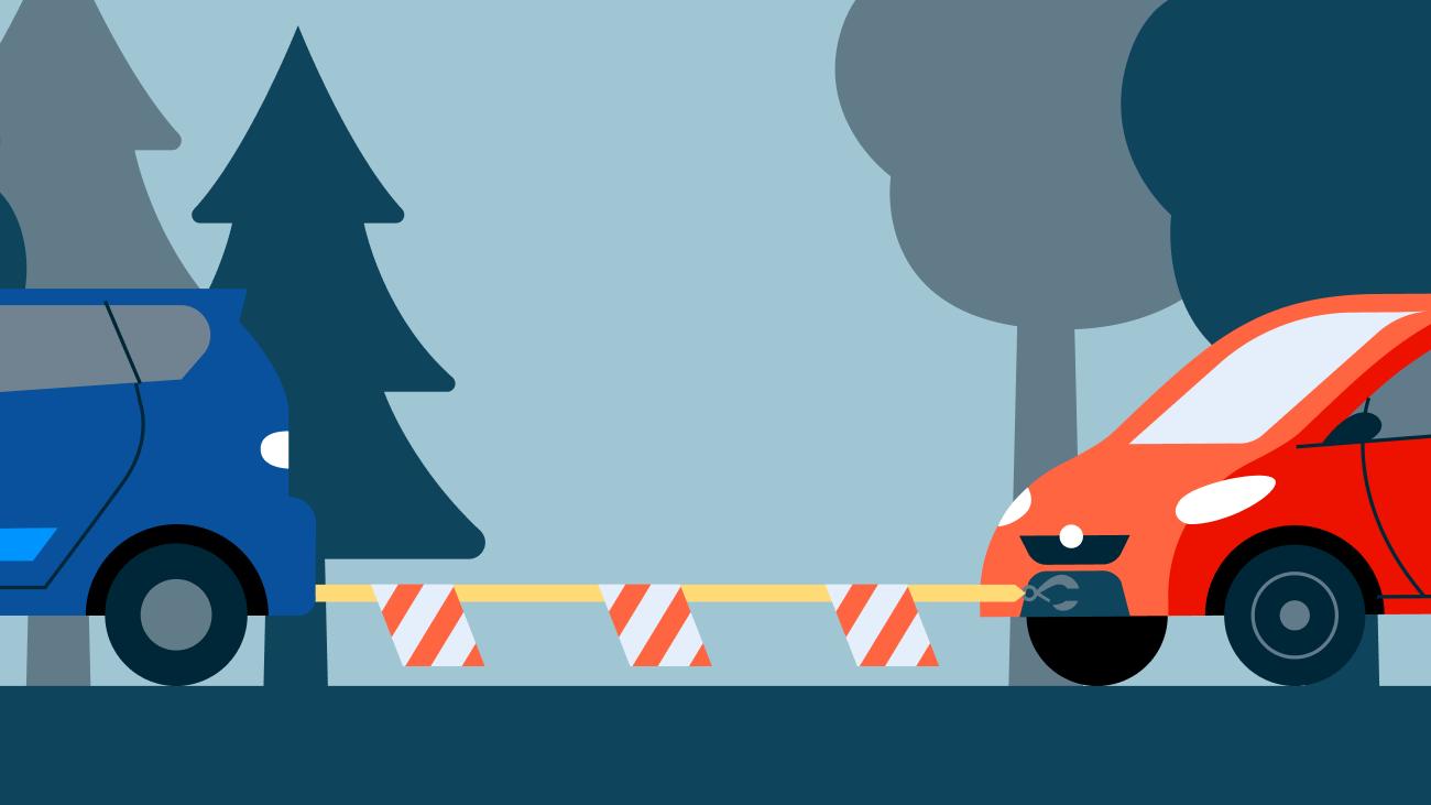 Как правильно буксировать автомобиль