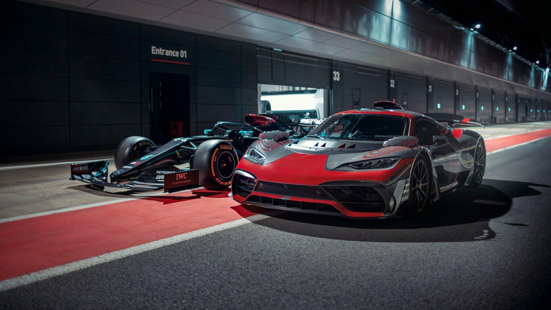 Дебют серийного гиперкара Mercedes-AMG One опять отложили: он слишком шумный
