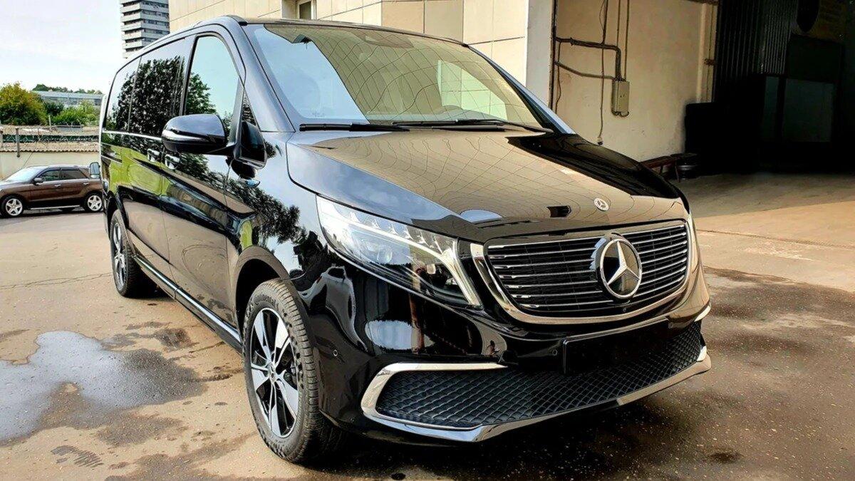 В России появились в продаже электромобили Mercedes-Benz EQV