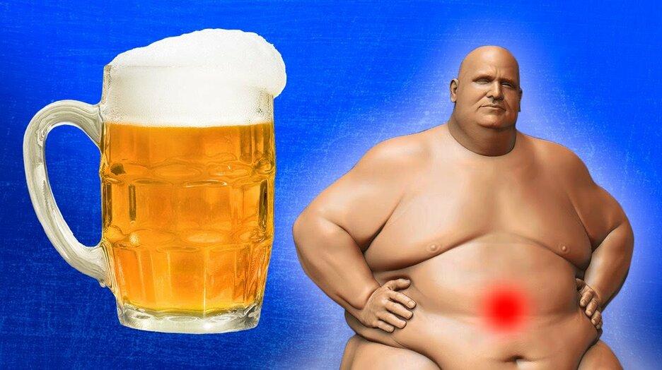 Картинка пузо от пива