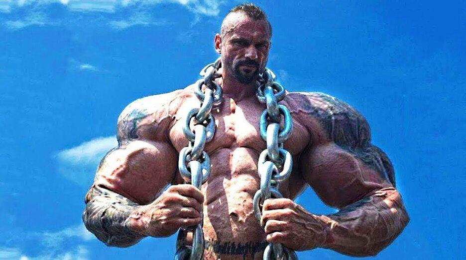 Фото самого сильного человека в мире