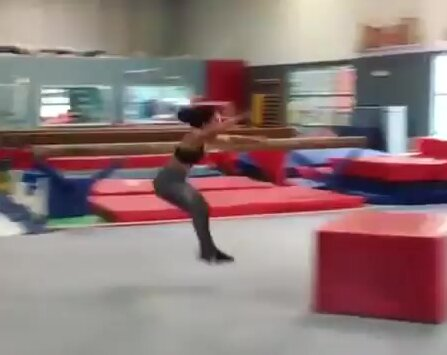 Прыжки с препятствиями. Видео прикол