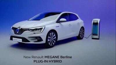Новый Renault Megane Berline E-Tech (Plug-in Hybrid) — Смотреть в Эфире
