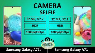 Какой смартфон лучше Samsung Galaxy A71s или Samsung Galaxy A71.  Сравнение топовых...