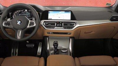 2021 BMW M440i xDrive Coupe Вождение, Интерьер, Экстерьер — Смотреть в Эфире