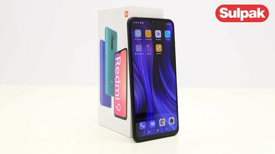 Смартфон Xiaomi Redmi 9 3/32GB Carbon Grey распаковка