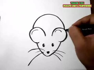 How To Draw A Rat Easy Drawing For Kids Yzarts In Yandex Collections