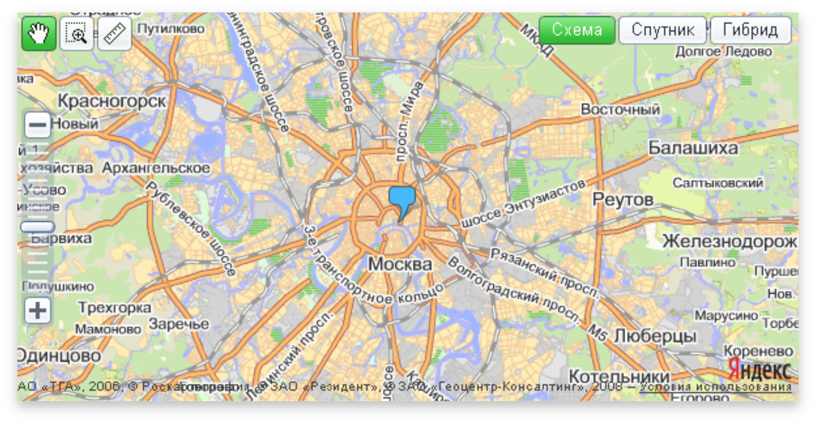 Карта москвы 2020 яндекс карты