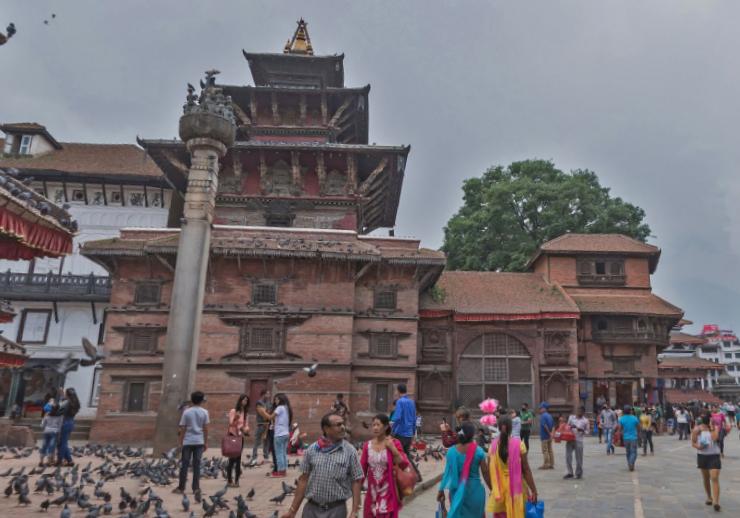 Центральная площадь Катманду