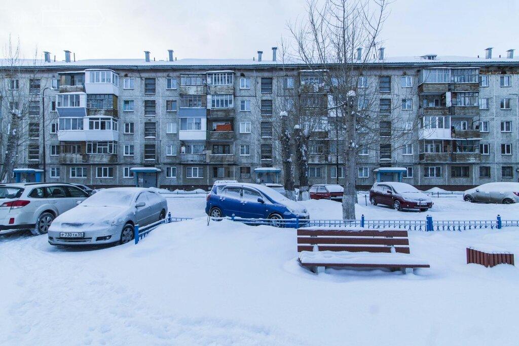 Панельная хрущёвка серии 1-335 в Омске