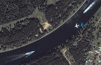 Встретятся ли самолетик и кораблик?