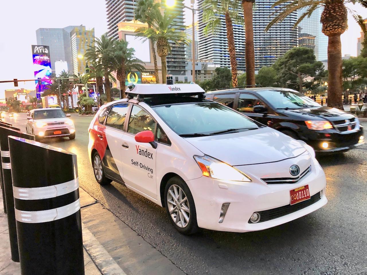 Yandex — Company blog — Yandex to Demo Self-Driving Car at CES 2019