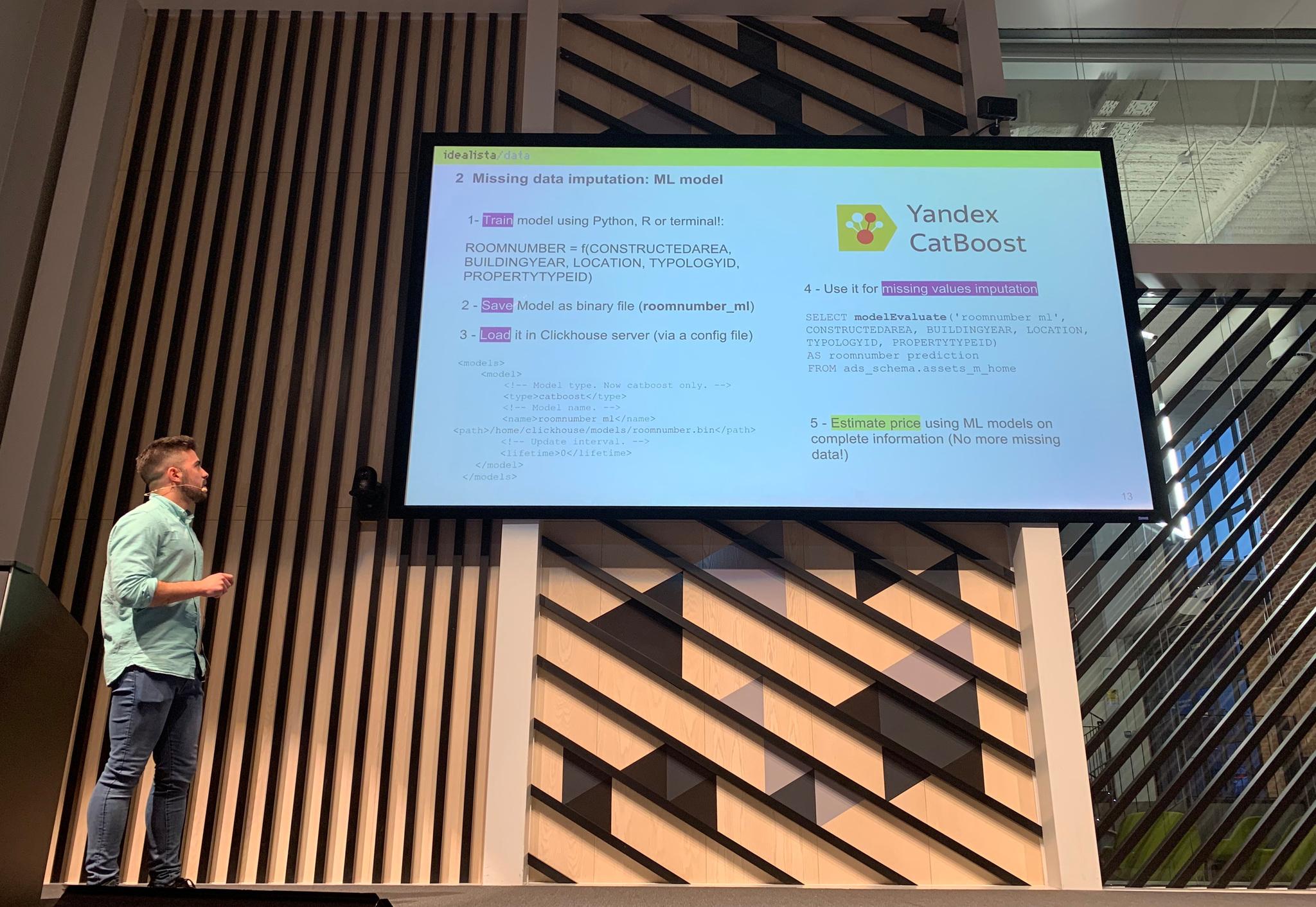 ClickHouse Meetup in Madrid on April 2, 2019 — ClickHouse Blog