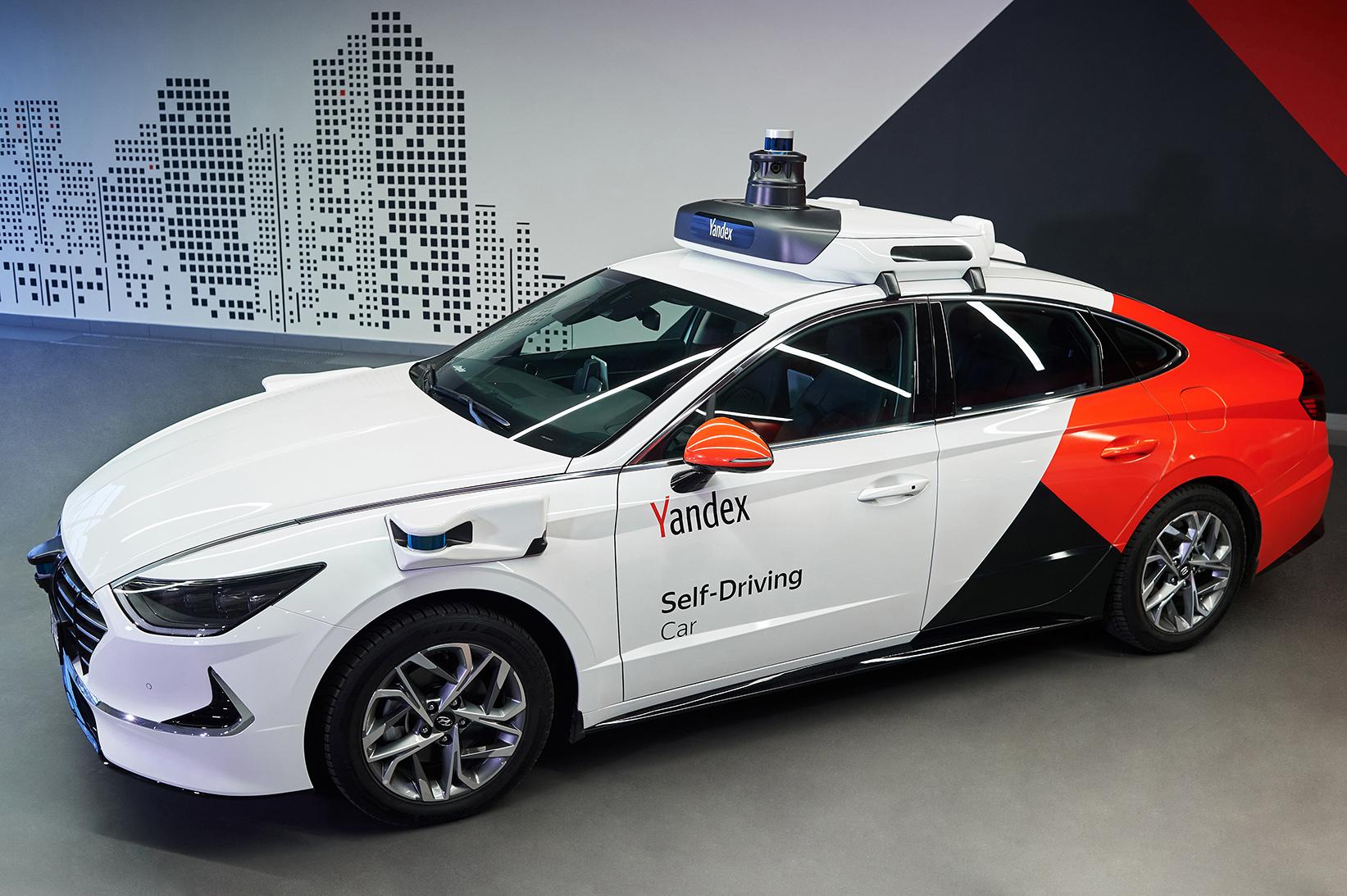 Беспилотное такси от Яндекса 3