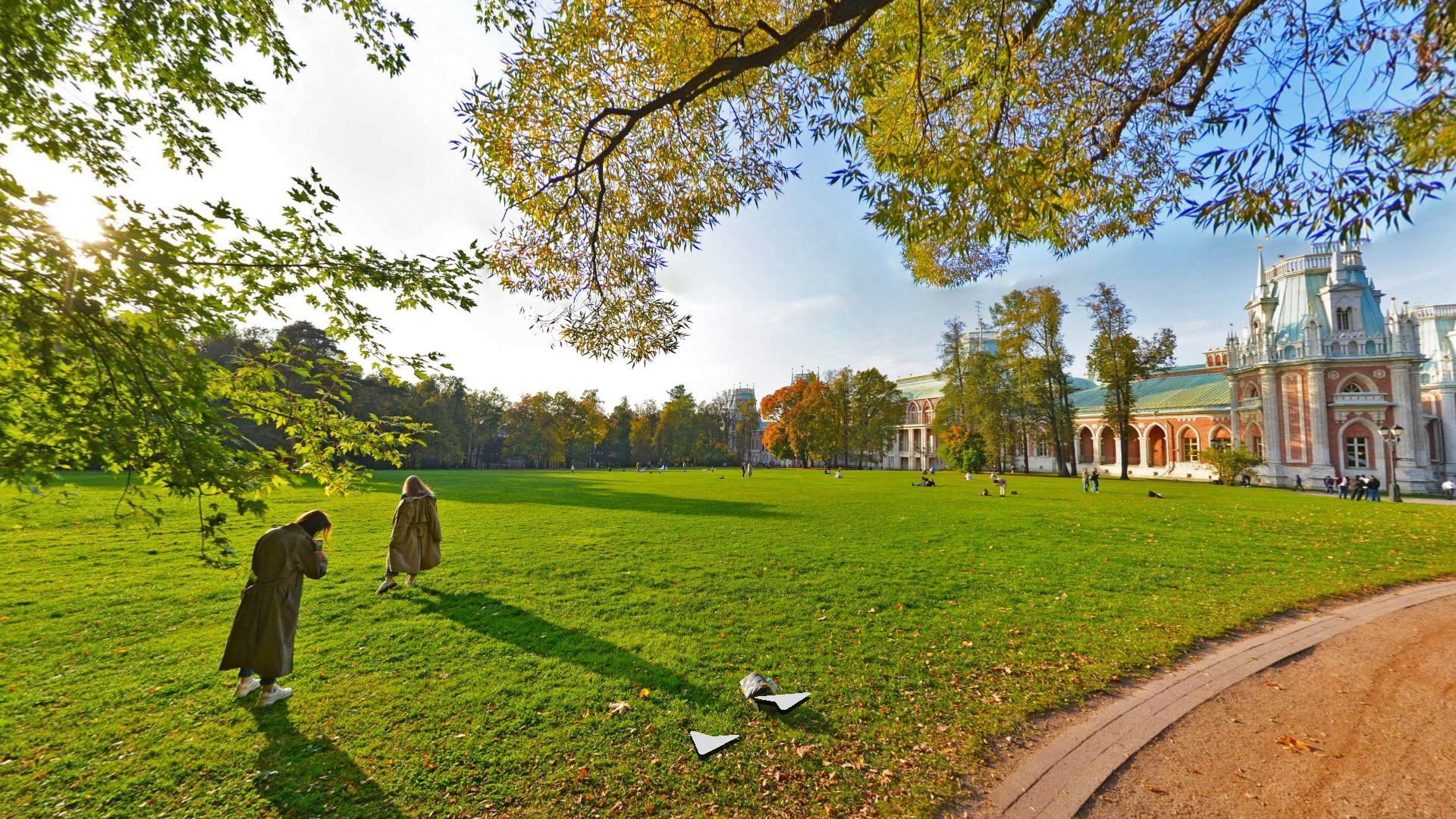Осень в парках и на Яндекс.Картах