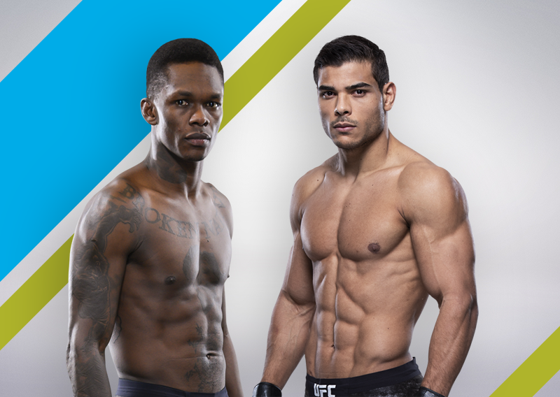 Israel Adesanya announced a plan to fight with Paulo Costa