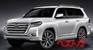 Появилась информация о новом Toyota Land Cruiser 300