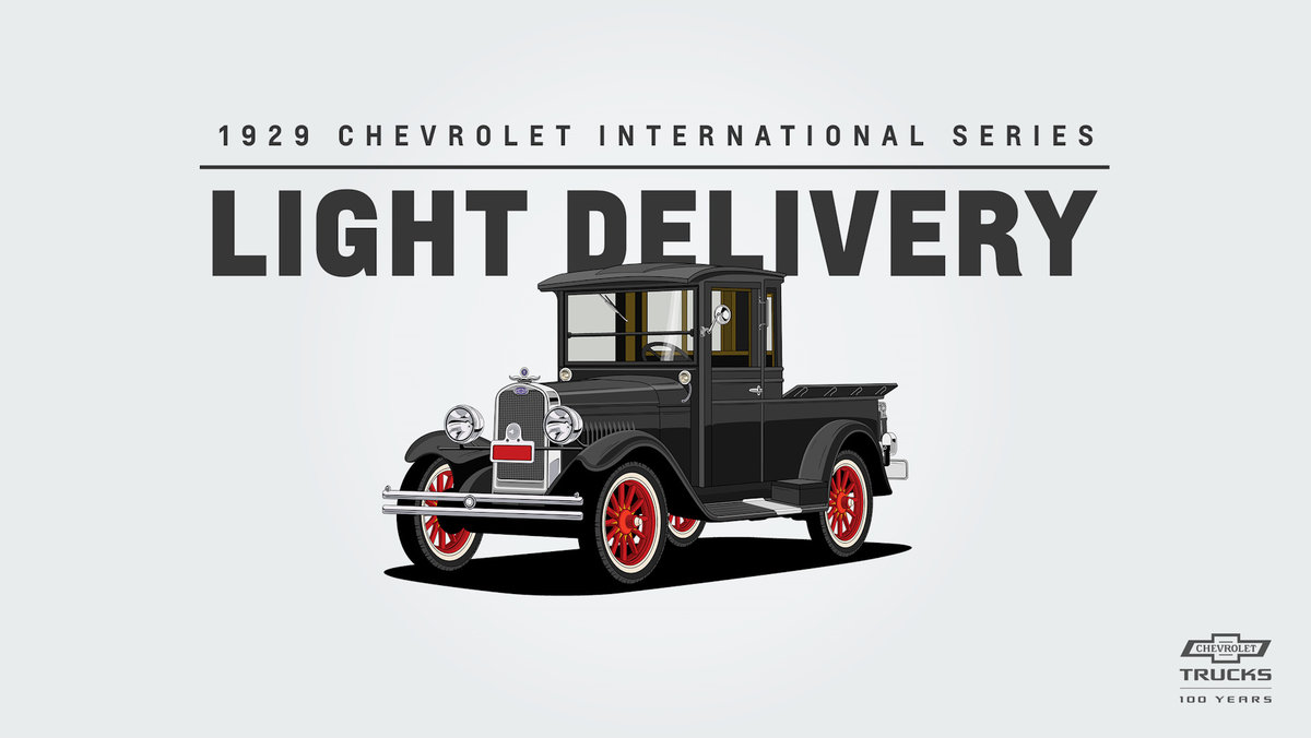 Chevrolet International Series AC Light Delivery (1929)