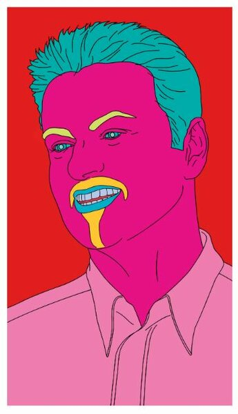 Michael Craig-Martin. Commissioned Portrait Untitled (George). 2007. Эстимейт 40-60 тыс. евро