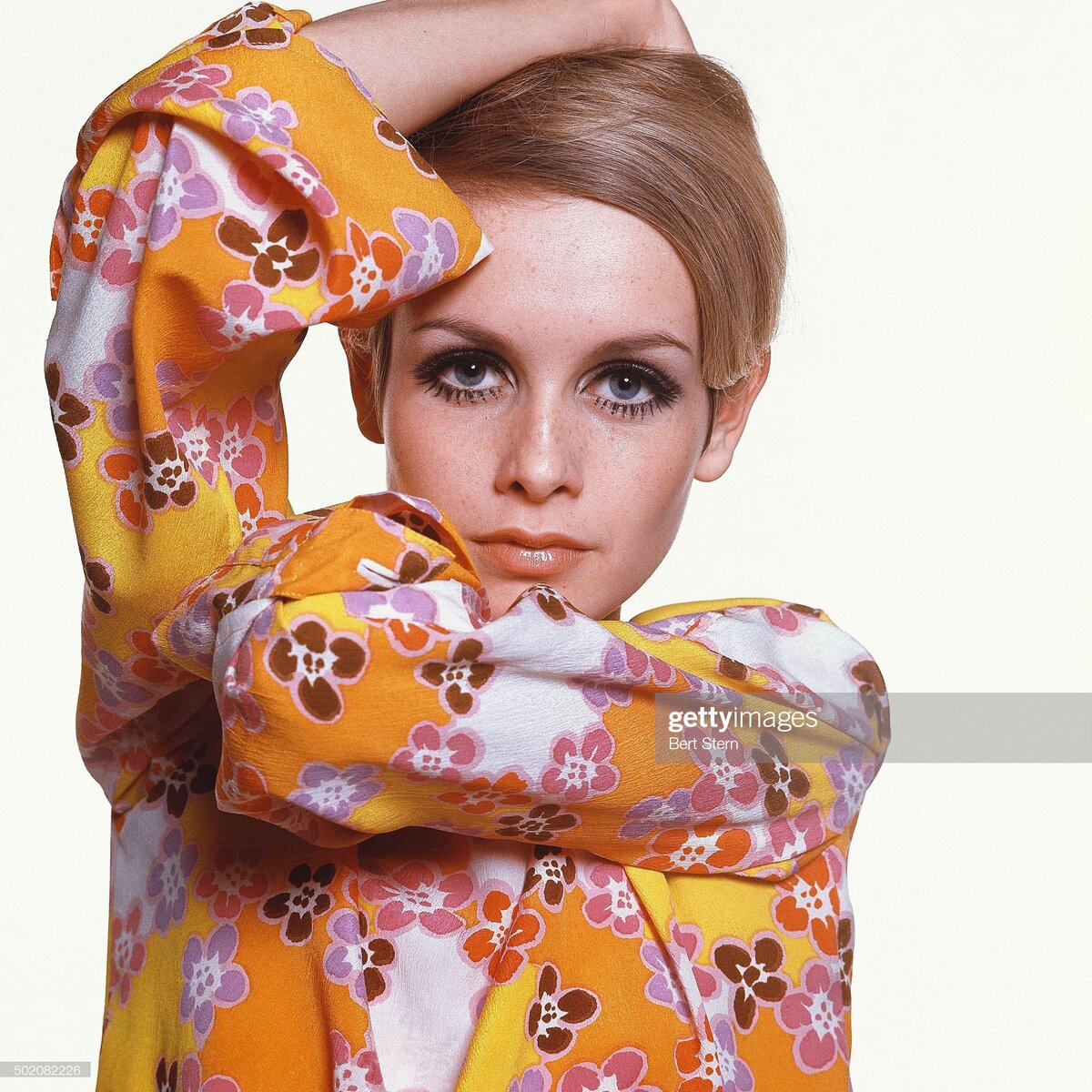 Твигги для Vogue 1967 (Photo by Bert Stern/Condé Nast via Getty Images)