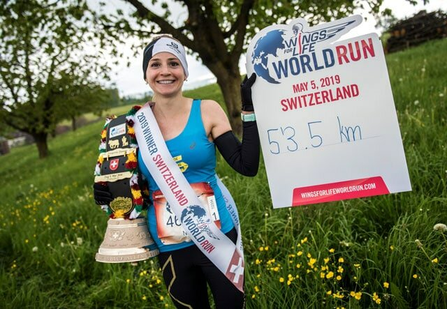 фото: Romina Amato for Wings for Life World Run