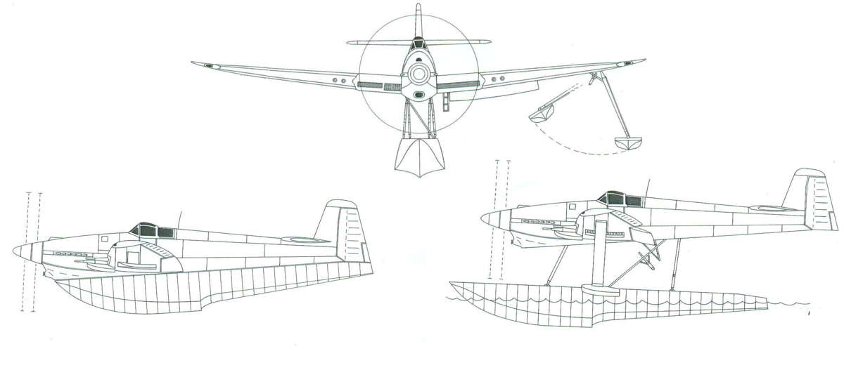 Схема Blackburn B. 44