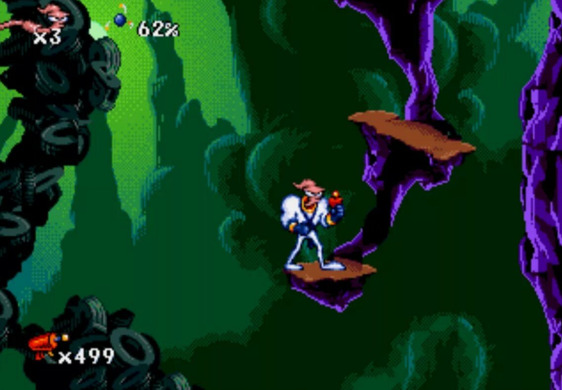 игра Earthworm Jim.