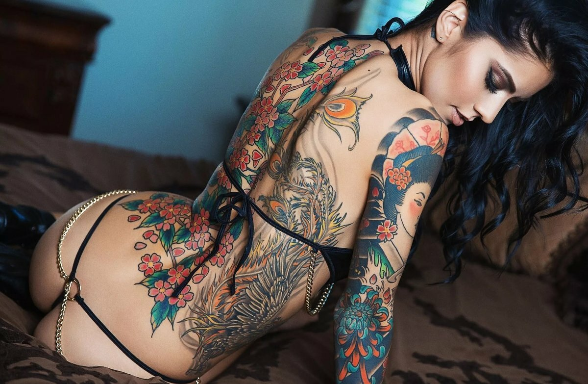 Fucking tattooed girls, fransheliz vasquez ass like whoa