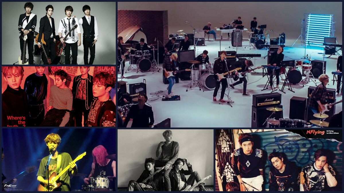 Photo credit: DAY6 (JYP), FTISLAND, CNBLUE, n.Flying (FNC Entertainment),DRUG RESTAURANT (C9 Entertainment)