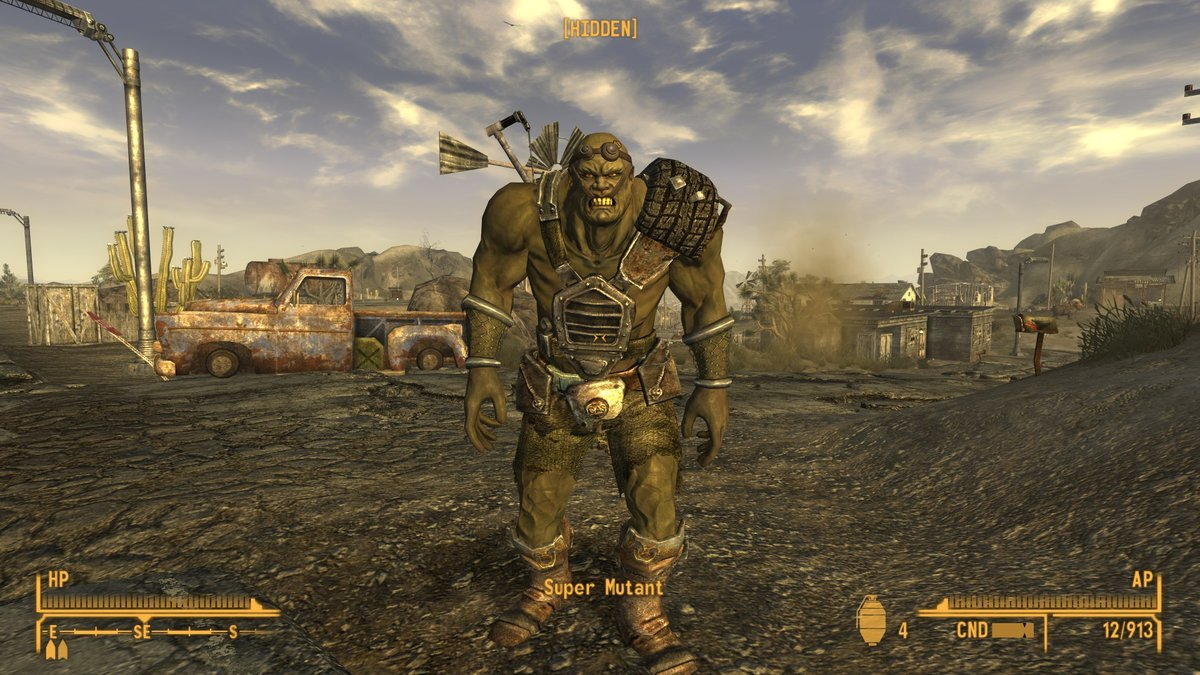 Super Mutant Fallout New Vegas Golfclub
