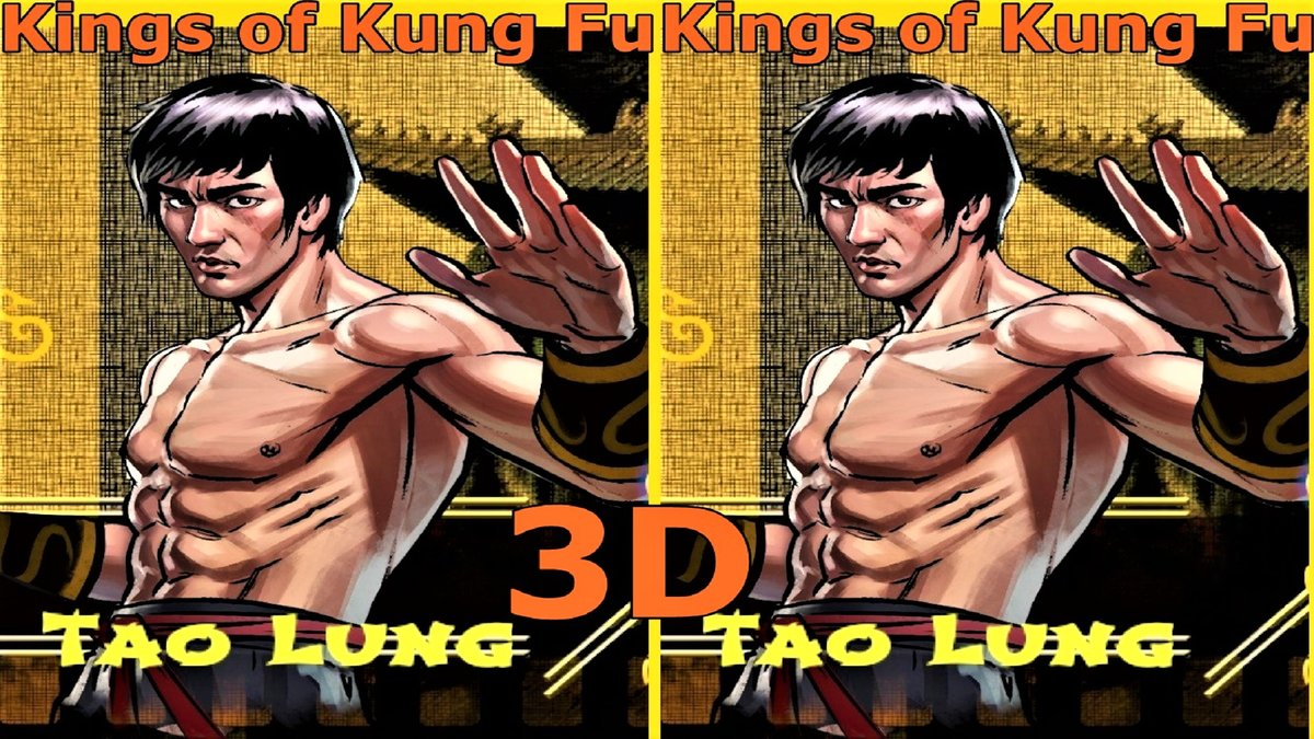 Видео для VR очков и 3Д ТВ Kings of Kung Fu